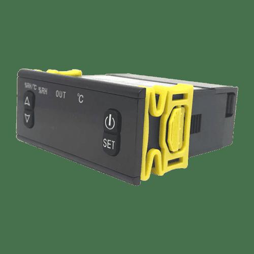 Контроллер температуры и влажности воздуха Shangfang Instrument SF469B с внешними датчиками (вид сбоку)