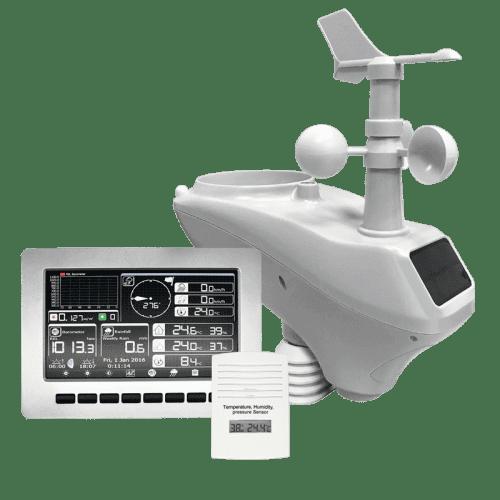 AMTAST AW003 беспроводная Wi-Fi метеостанция с TFT дисплеем + приложение для телефона