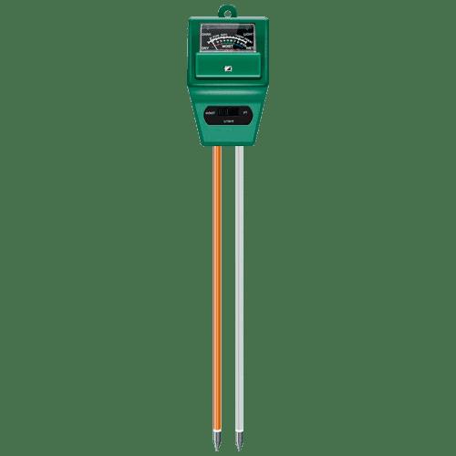 pH метр для почвы, влагомер и измеритель освещенности 3 в 1 ETP306