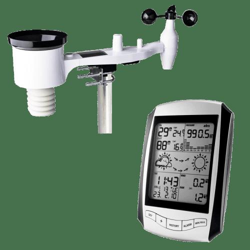 Профессиональная метеостанция AMTAST AW001 с беспроводными датчиками