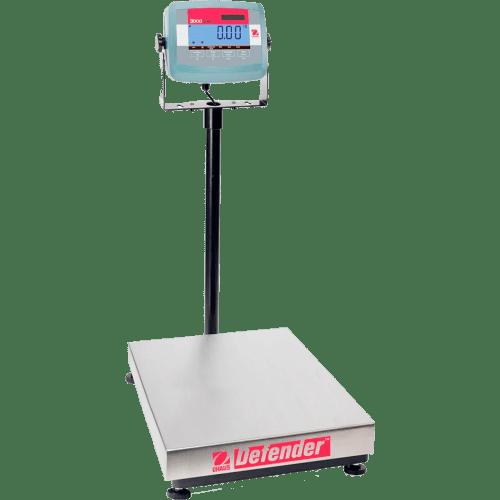 Платформенные напольные весы Ohaus Defender 3000 D31P150BX