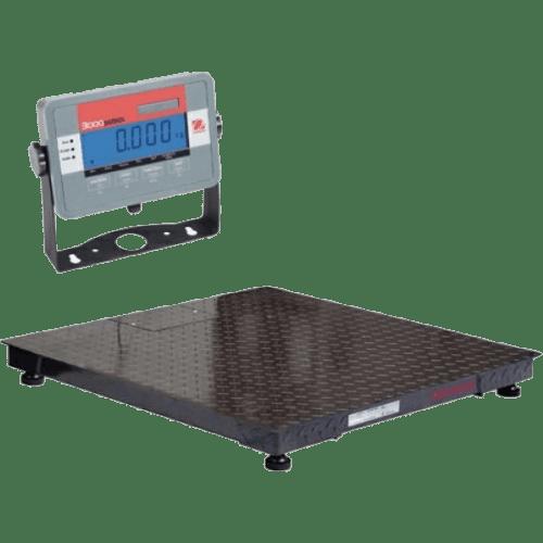 Напольные весы с платформой Ohaus Defender 3000 DF DF32M3000BL