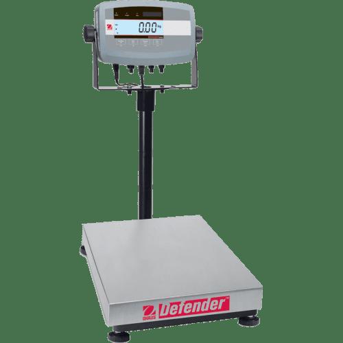 Промышленные платформенные напольные весы Ohaus Defender 5000 D51P30QR1