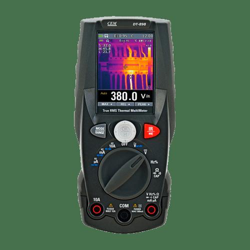 Мультиметр TRMS CEM DT-898 со встроенным тепловизором