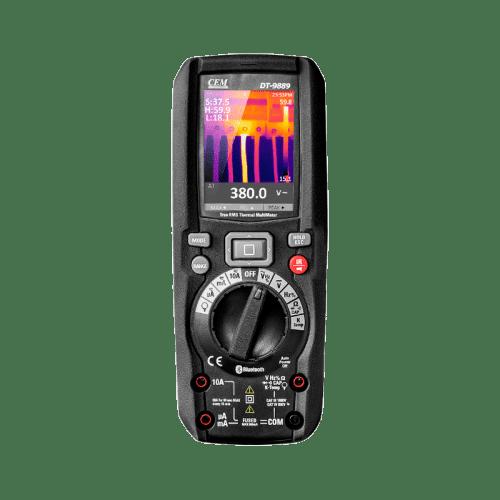 CEM DT-9889 мультиметр TRMS с встроенным тепловизором (дисплей)