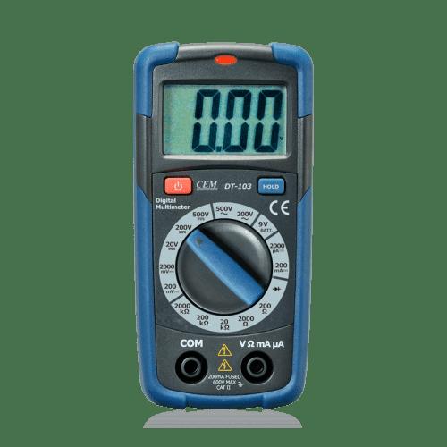 CEM DT-103 цифровой мультиметр