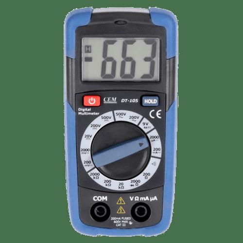 CEM DT-105 цифровой мультиметр