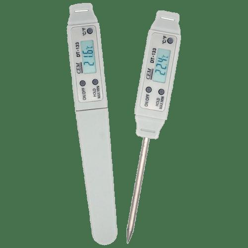 CEM DT-133A цифровой термометр контактный в защитном чехле