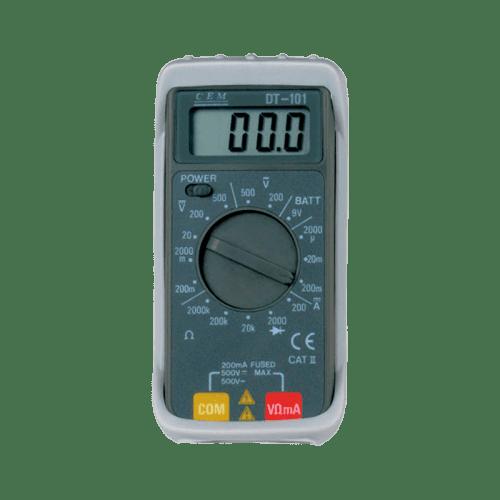 CEM DT-101 бюджетный цифровой мультиметр
