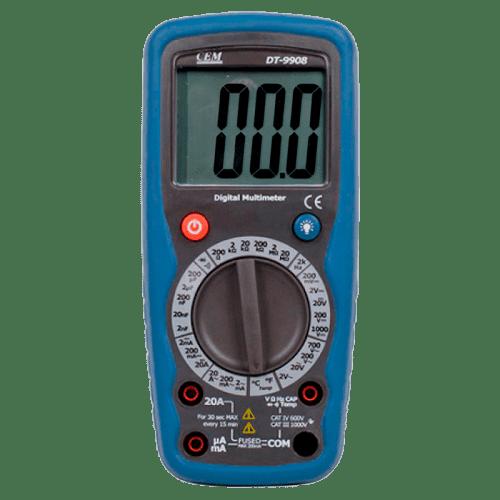 CEM DT-9908 цифровой мультиметр