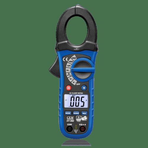 CEM DT-360 профессиональные токовые клещи (Госреестр)