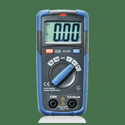 CEM DT-107 цифровой мультиметр