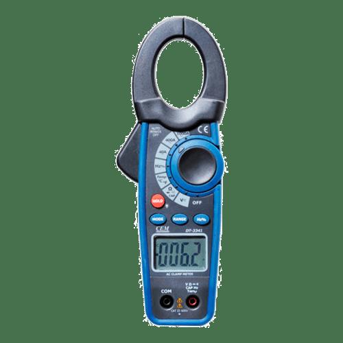 CEM DT-3341 токовые клещи с датчиком температуры (Госреестр)