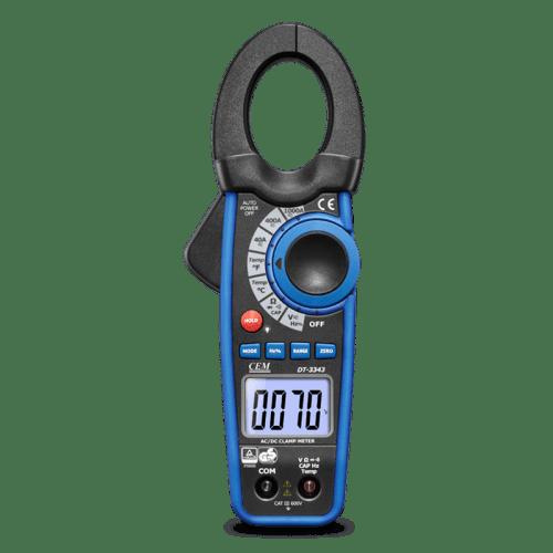 CEM DT-3340 токовые клещи (Госреестр)