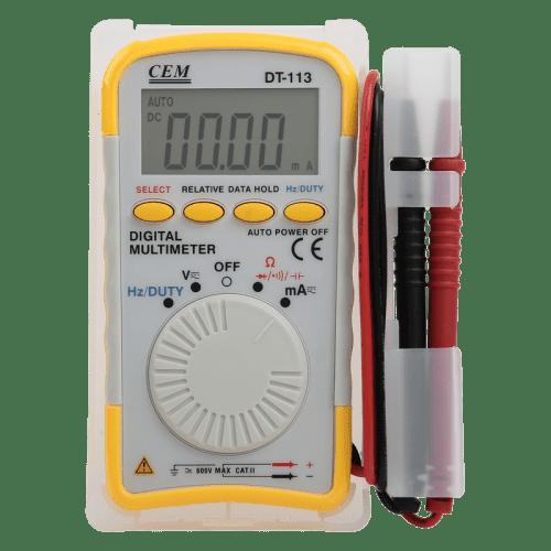 CEM DT-113 карманный цифровой мультиметр