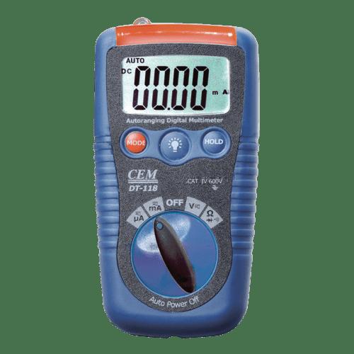 CEM DT-118 цифровой мультиметр