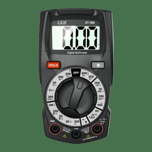 CEM DT-660 цифровой мультиметр