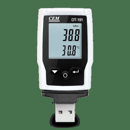 CEM DT-191A регистратор температуры и влажности