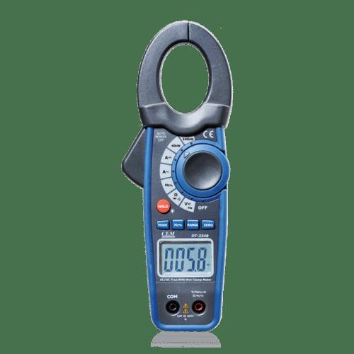 CEM DT-3348 токоизмерительные клещи с мультиметром и измерителем мощности (Госреестр)