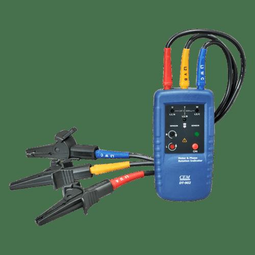 CEM DT-902 индикатор чередования фаз и обмоток электродвигателя