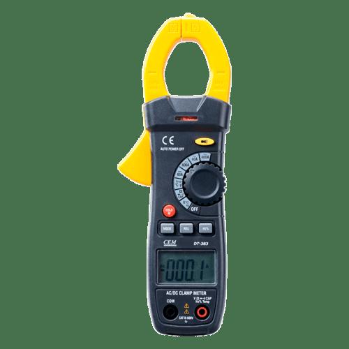 CEM DT-380 электроизмерительные клещи