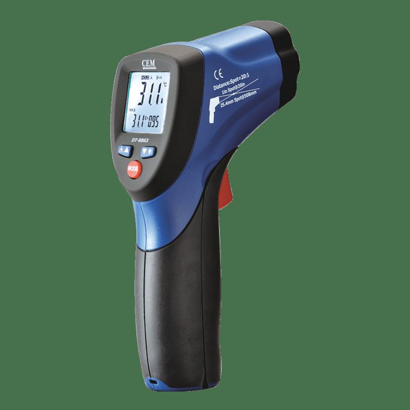 CEM DT-8860B пирометр 12:1 -50ºC до 450ºC