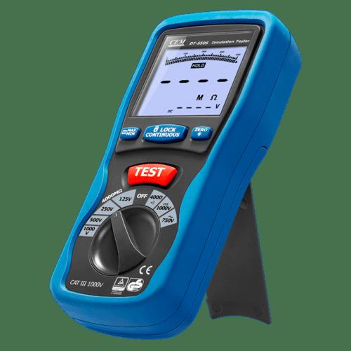CEM DT-5505 цифровой тестер изоляции мегаомметр (фиксатор положения)