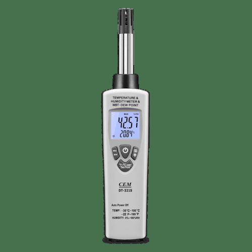 CEM DT-321S цифровой гигро-термометр