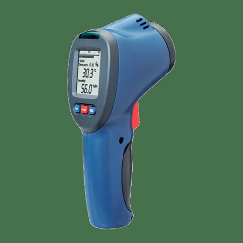 CEM DT-8663 пирометр, влажность, точка росы 20:1 -50°С до 380°С