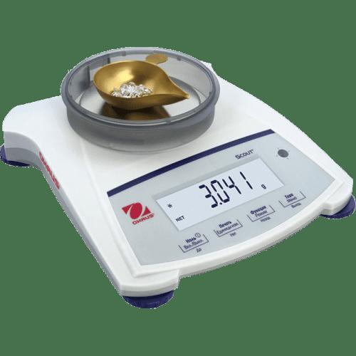 Портативные переносные весы Ohaus Scout SJX SJX1502