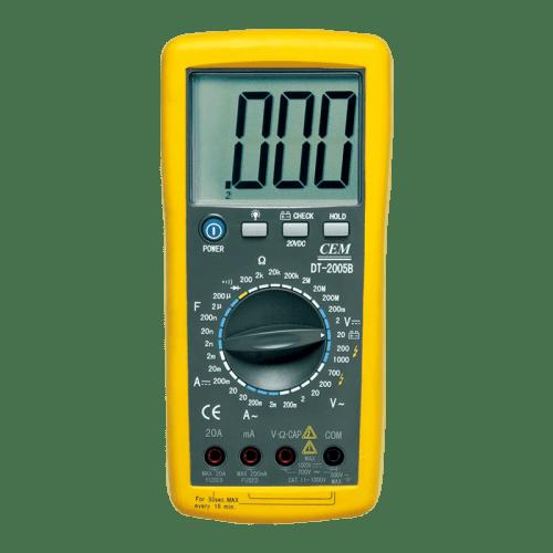 CEM DT-2008 цифровой мультиметр