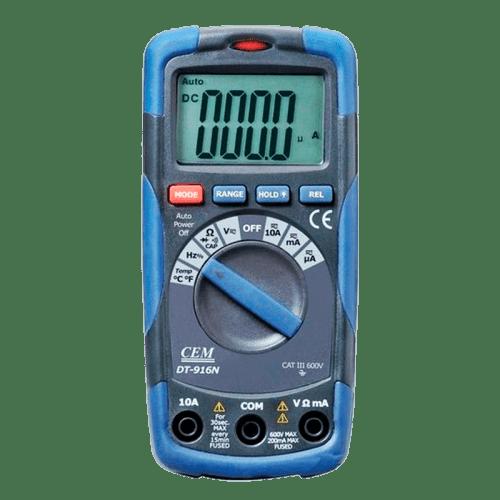CEM DT-916 цифровый мультиметр