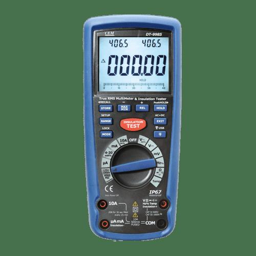 CEM DT-9985 измеритель сопротивления изоляции с True RMS мультиметром