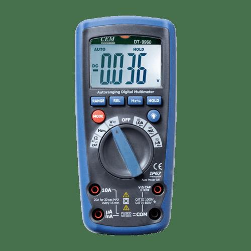 CEM DT-9963 профессиональный цифровой мультиметр (Госреестр)