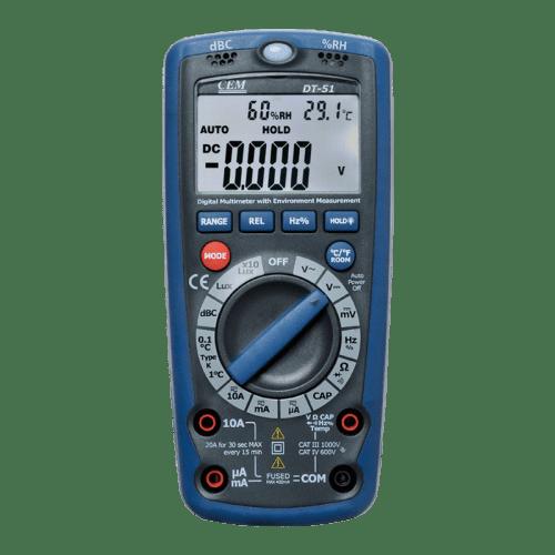CEM DT-61 мультиметр 6 в 1