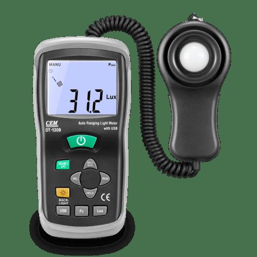 CEM DT-1309 измеритель уровня освещения, люксметр