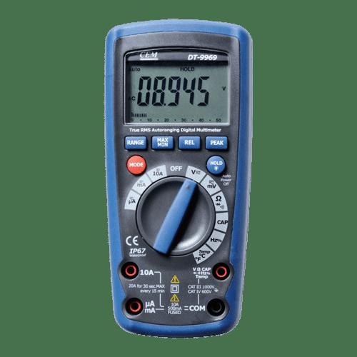 CEM DT-9969 профессиональный мультиметр (Госреестр)