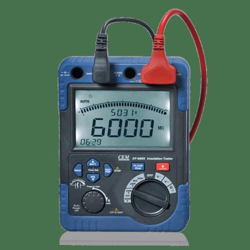 CEM DT-6605 мегаомметр (Госреестр)