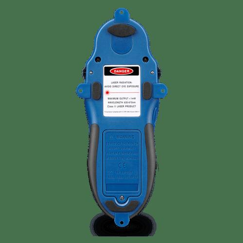 CEM LA-1010 тестер для поиска скрытой проводки с лазерным указателем (вид сзади)