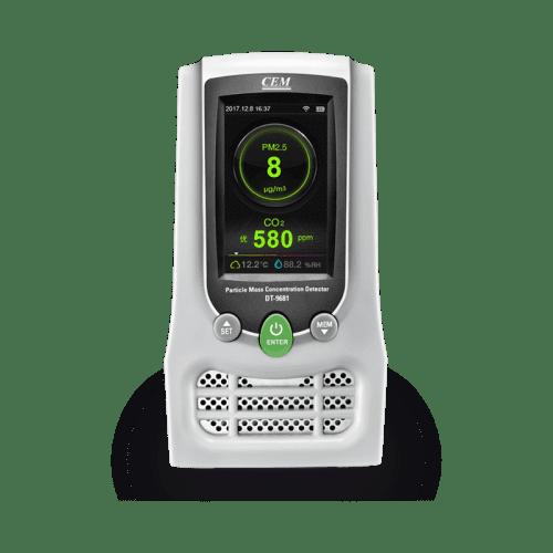 CEM DT-9680 счётчик пылевых частиц, формальдегид, температура, влажность