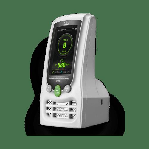 CEM DT-9680 счётчик пылевых частиц (вид сбоку)