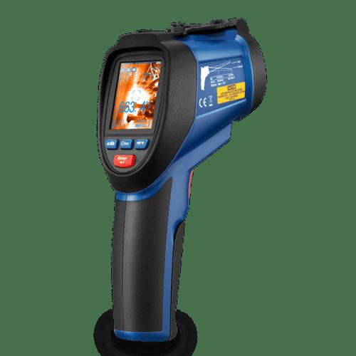CEM DT-9860 профессиональный пирометр со встроенной камерой (50:1 -50 ~ 1370°С) (Госреестр)