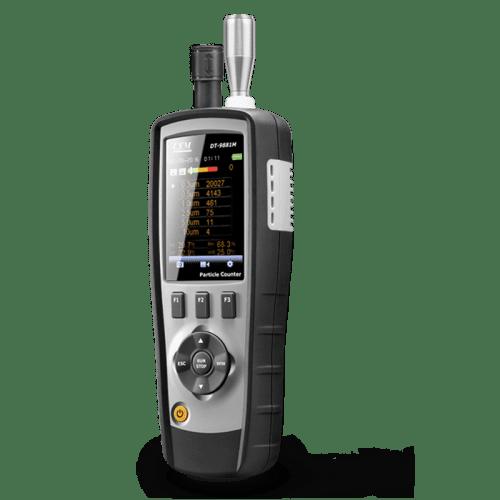 CEM DT-9881М прибор экологического контроля (вид сбоку)