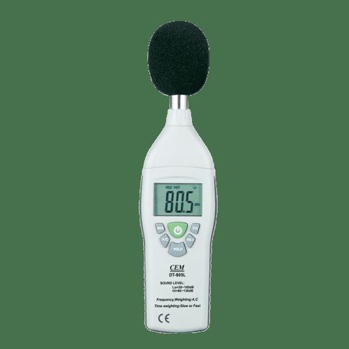 CEM DT-805 шумомер измеритель интенсивности звука