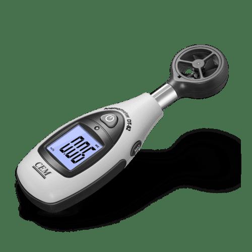CEM DT-82 анемометр мини (вид сбоку)
