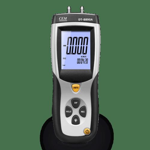 CEM DT-8890 дифференциальный цифровой манометр