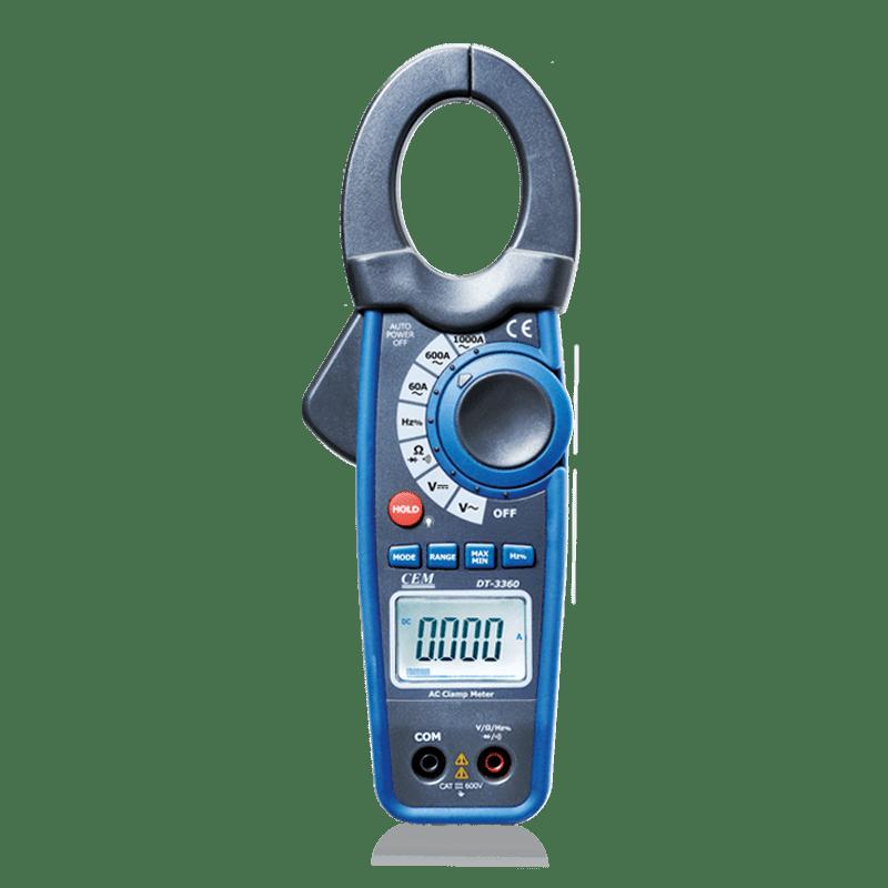 CEM DT-3368 профессиональные токовые клещи (Госреестр)