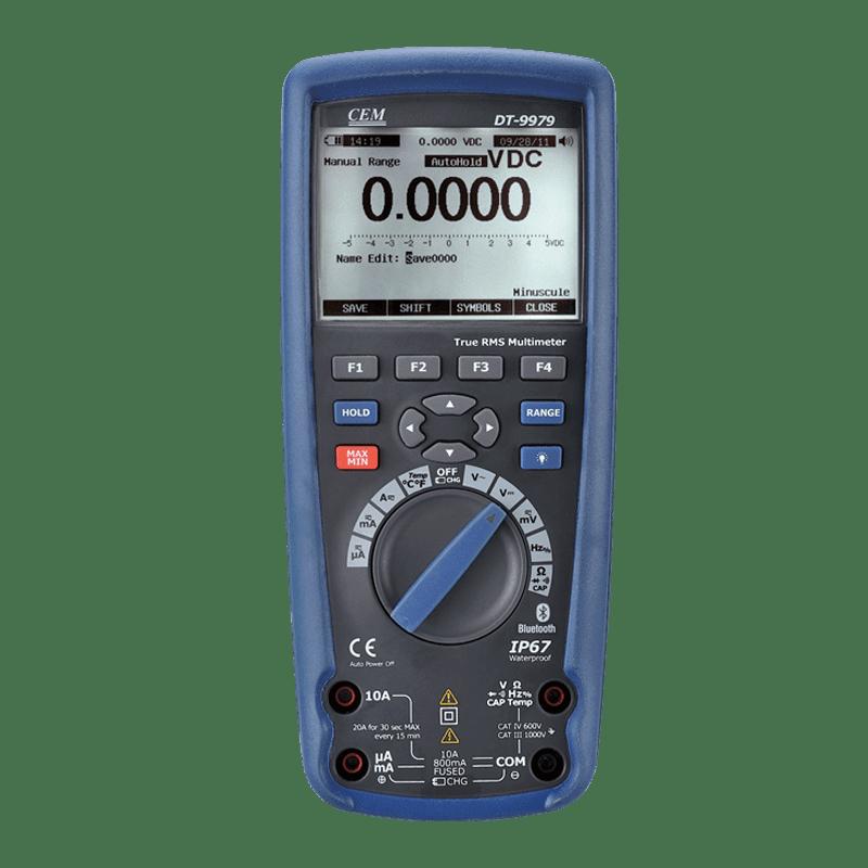 CEM DT-9979 цифровой мультиметр, IP67, True RMS (Госреестр)