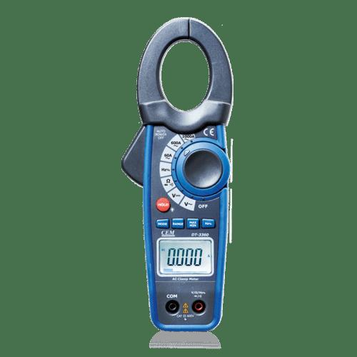 CEM DT-3363 токовые клещи-мультиметр (Госреестр)