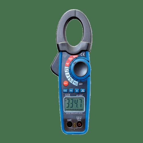 CEM DT-3343 токовые клещи для постоянного тока, с датчиком температуры (Госреестр)